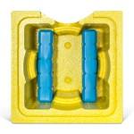 Cooling Cubes MIX!T :: Partyfass Bierkühler Schwarz & Gelb