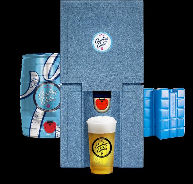 TUBE - Cooling Cubes Bierkühler