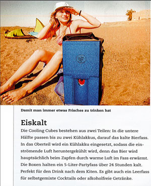 Cooling Cubes in der Presse 0000-00