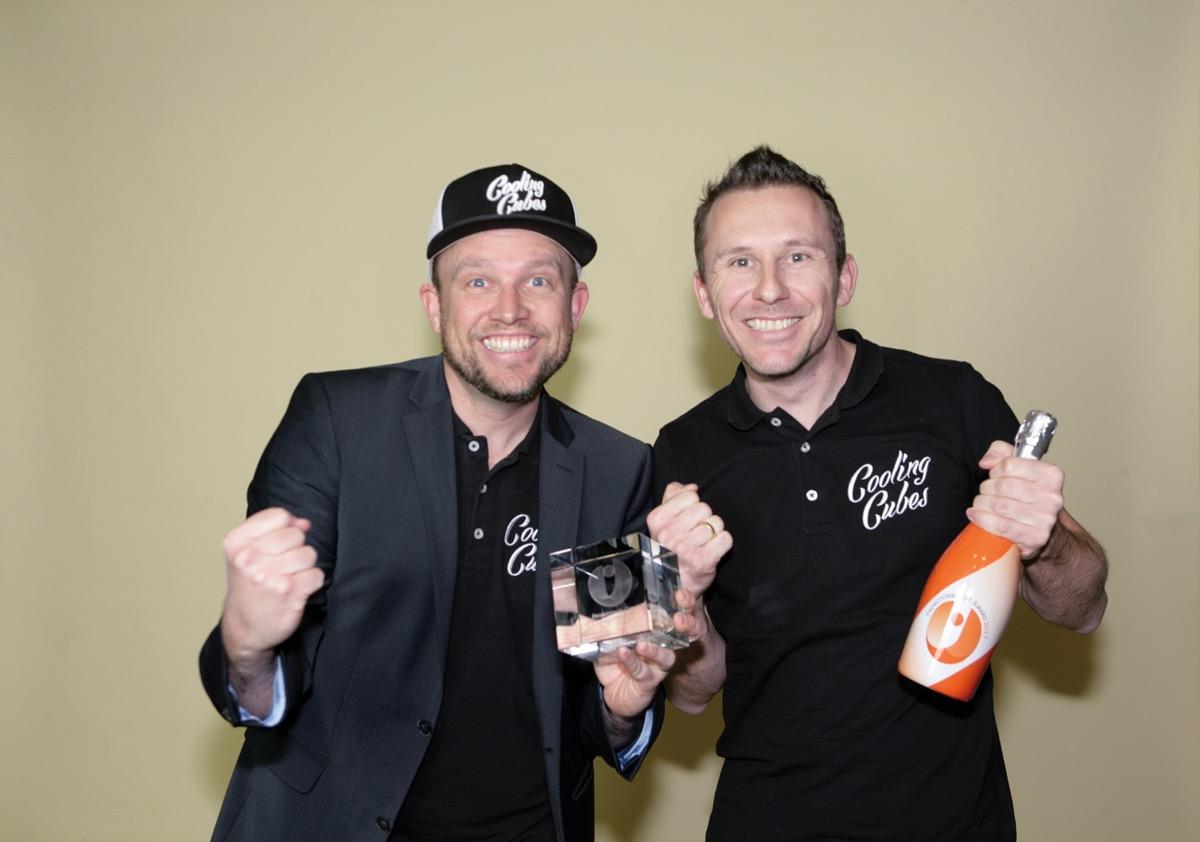 Cooling Cubes Promotional Gift Award Gewinner
