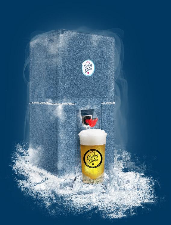 POINT BREAK - Cooling Cubes Bierkühler